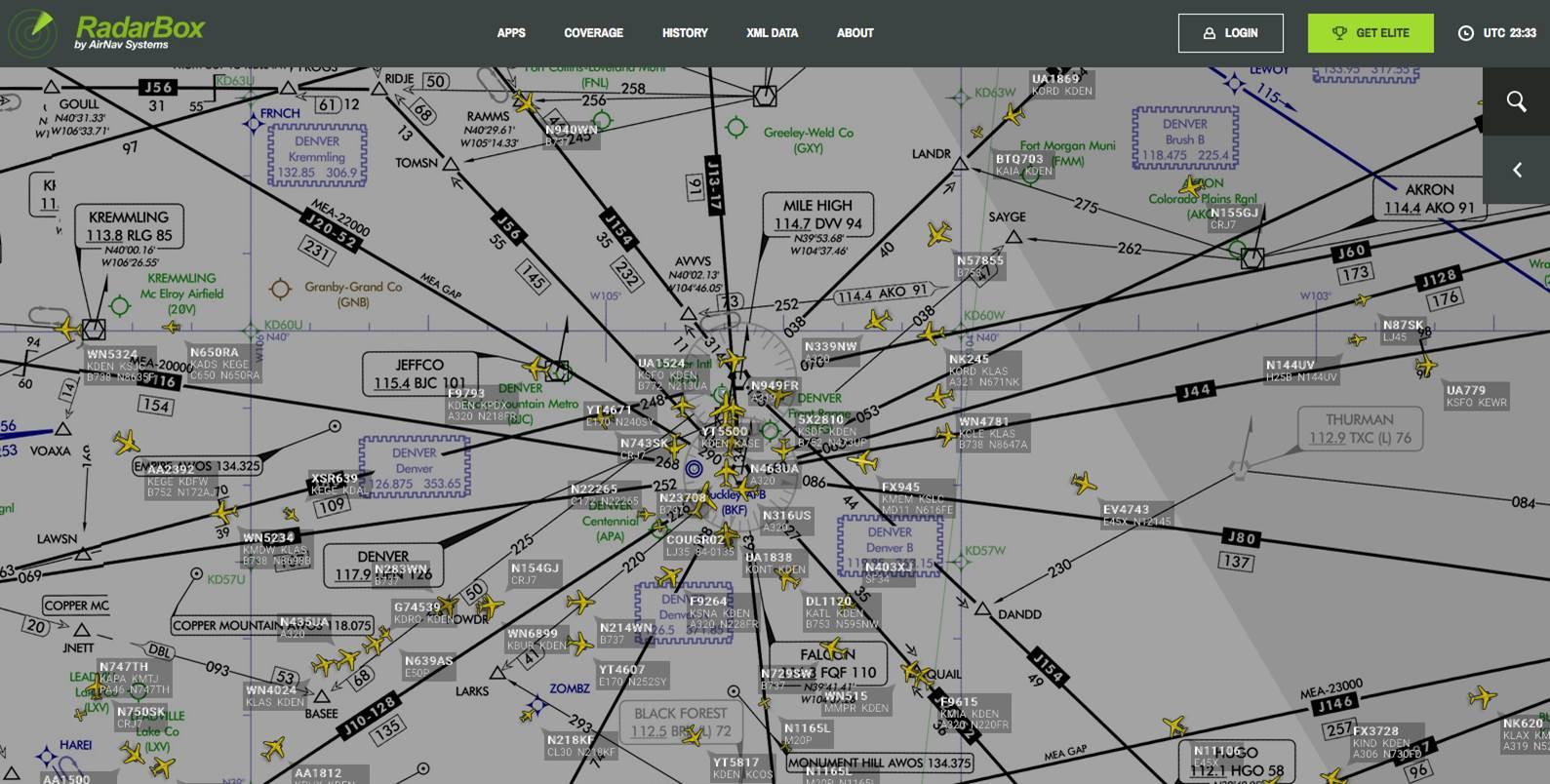 Amazing Visualization Of US Air Traffic BLACK BOX PARADOX - Us air traffic map
