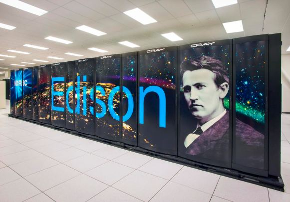 NERSC Cray Edison supercomputer cluster at the Oakland Scientific Facility - Blackboxparadox.com