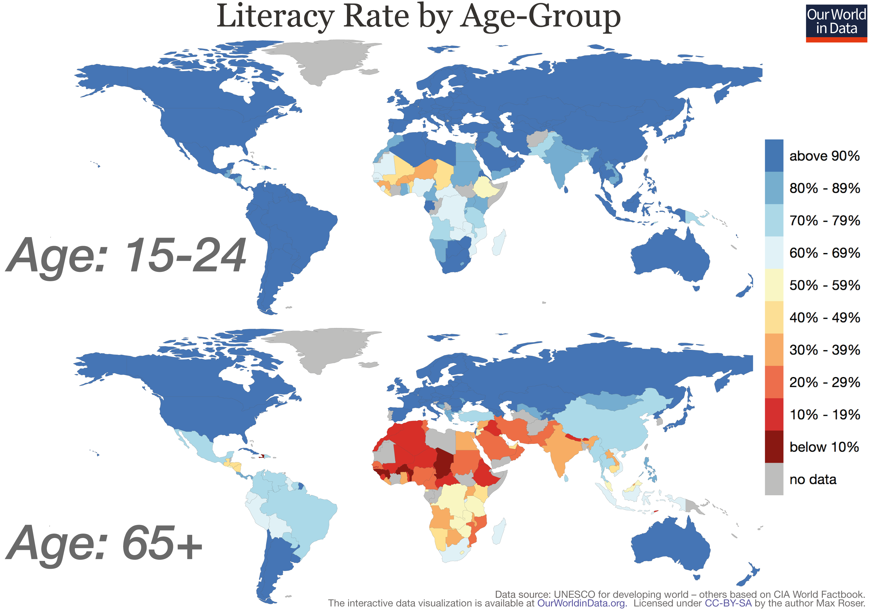 Top World Countries By Literacy Rates Black Box Paradox