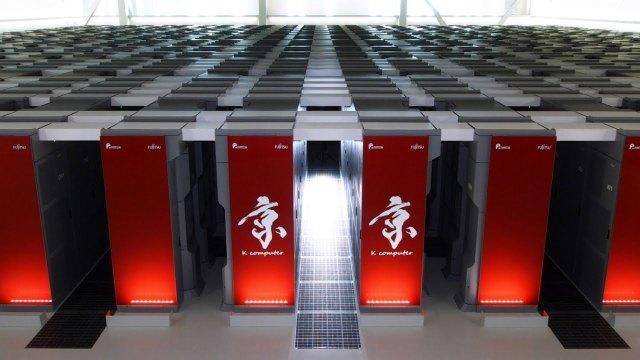 k supercomputer fujitsu, japan