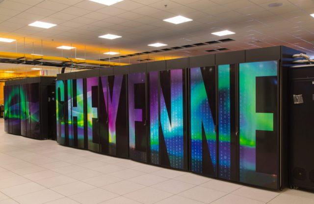 NCAR Cheyenne supercomputer