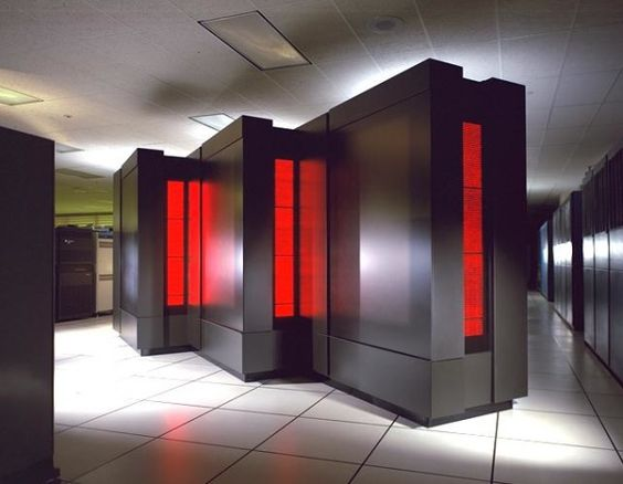 NSA's thinking machine supercomputer - Blackboxparadox.com